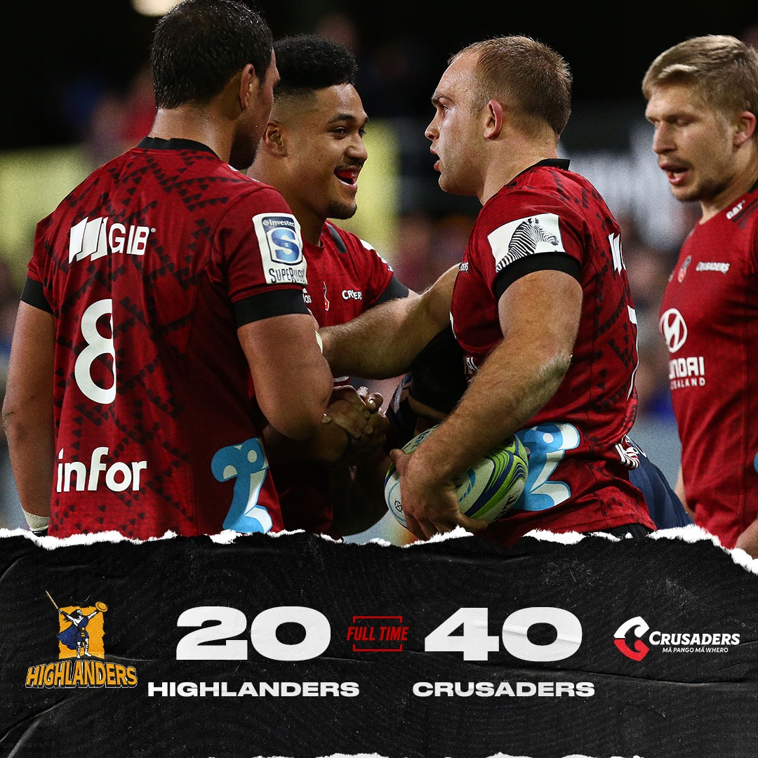 You simply have to take all your chances against the @crusadersrugby -- the @Highlanders didn't, and paid a heavy price. #HIGvCRU https://t.co/njoEklPVyd