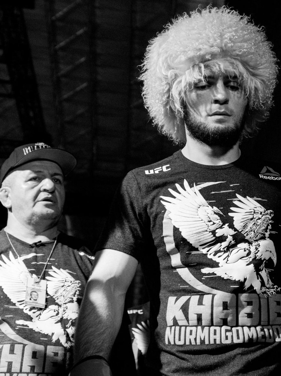 My heart goes out to you and your loved ones. I'm so sorry for your loss champ @TeamKhabib A3thama Allahoe adjrak wa ah'sana a3zaa'ak wa ghafara limayyitik. The world lost a very noble man Abdulmanap Nurmagomedov. https://t.co/ZkXJgv2RIX