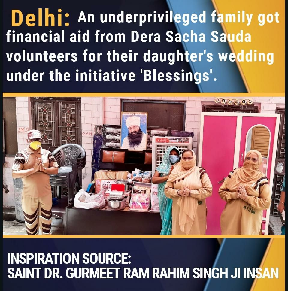 134 welfare works are carried out by the @derasachasauda volunteers with the inspiration of Saint Dr. #Gurmeetramrahim Ji #SelflessService<br>http://pic.twitter.com/GeoVMbeN13