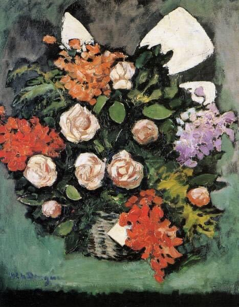 Kees Van Dongen  Still Life with Flowers, 1926 #keesvandongen #fauves #painting #fineart #arthistory #dailyart #art #artwork #oilpaintings #artoftheday #impressionism #postimpressionism  #artinfinitus #italy #museelouvre #england #paris #france #notredame #dutch #french https://t.co/7FWi3cX5gr