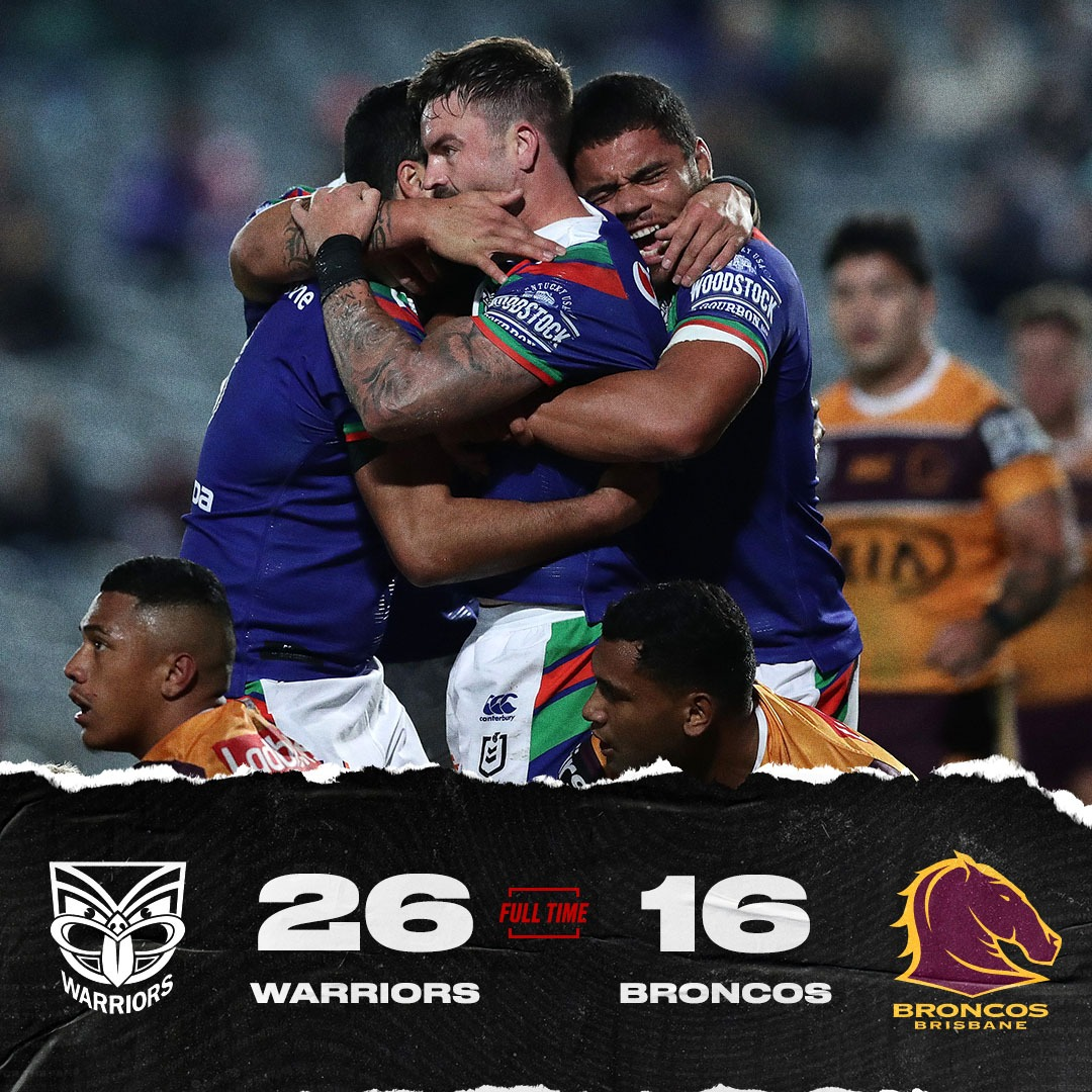 What an inspiring win from the @NZWarriors! But will that be the final straw for Broncos coach Anthony Seibold? #NRLWarriorsBroncos https://t.co/2ZwNOyGeGv