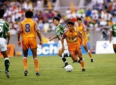 #OnThisDay in 1992: The birth of Shimizu S-Pulse, as the J-League outfit faced Gamba Osaka at Nagai Stadium.