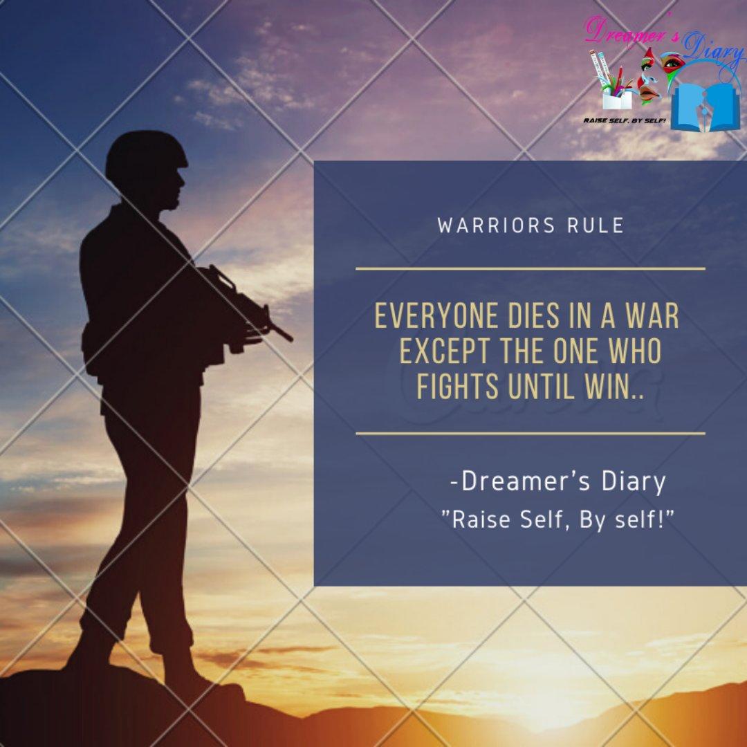 #DreamersDiary #WarriorsRule #RaiseSelfBySelf #Mindset #Trainer #MotivationalSpeakers #PositiveMindset  #LifeCoach  #Inspirationpic.twitter.com/ujHLpHWakj
