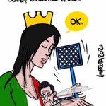 Image for the Tweet beginning: Non vogliamo il vostro aiuto!!!