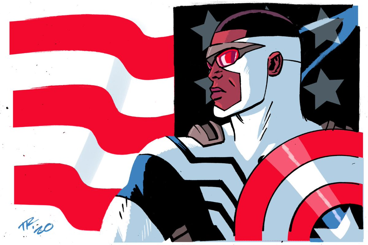 A Captain America for the 4th of July. Stay safe and be smart!