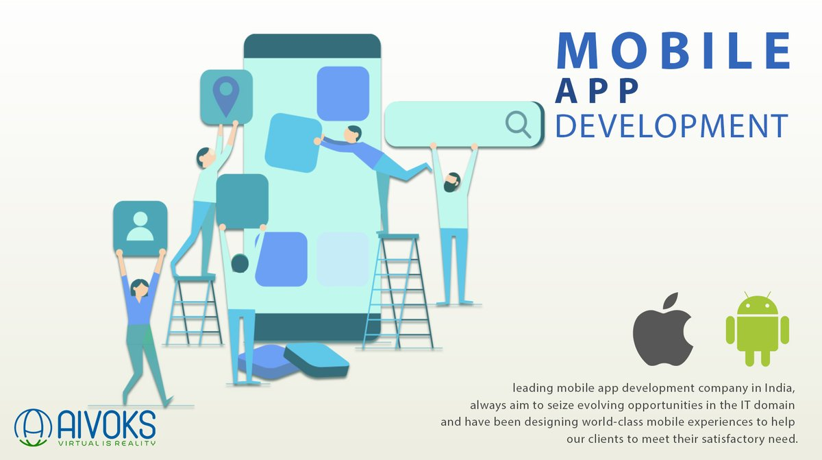 As #mobile technology is evolving continuously with a more and more advanced feature we use this #technology for direct marketing, online branding and improving customer engagement #mobileapp #app #tech #development #web #customdevelopment https://www.aivoks.com/mobile-development.php …pic.twitter.com/iKd9GEeuEQ