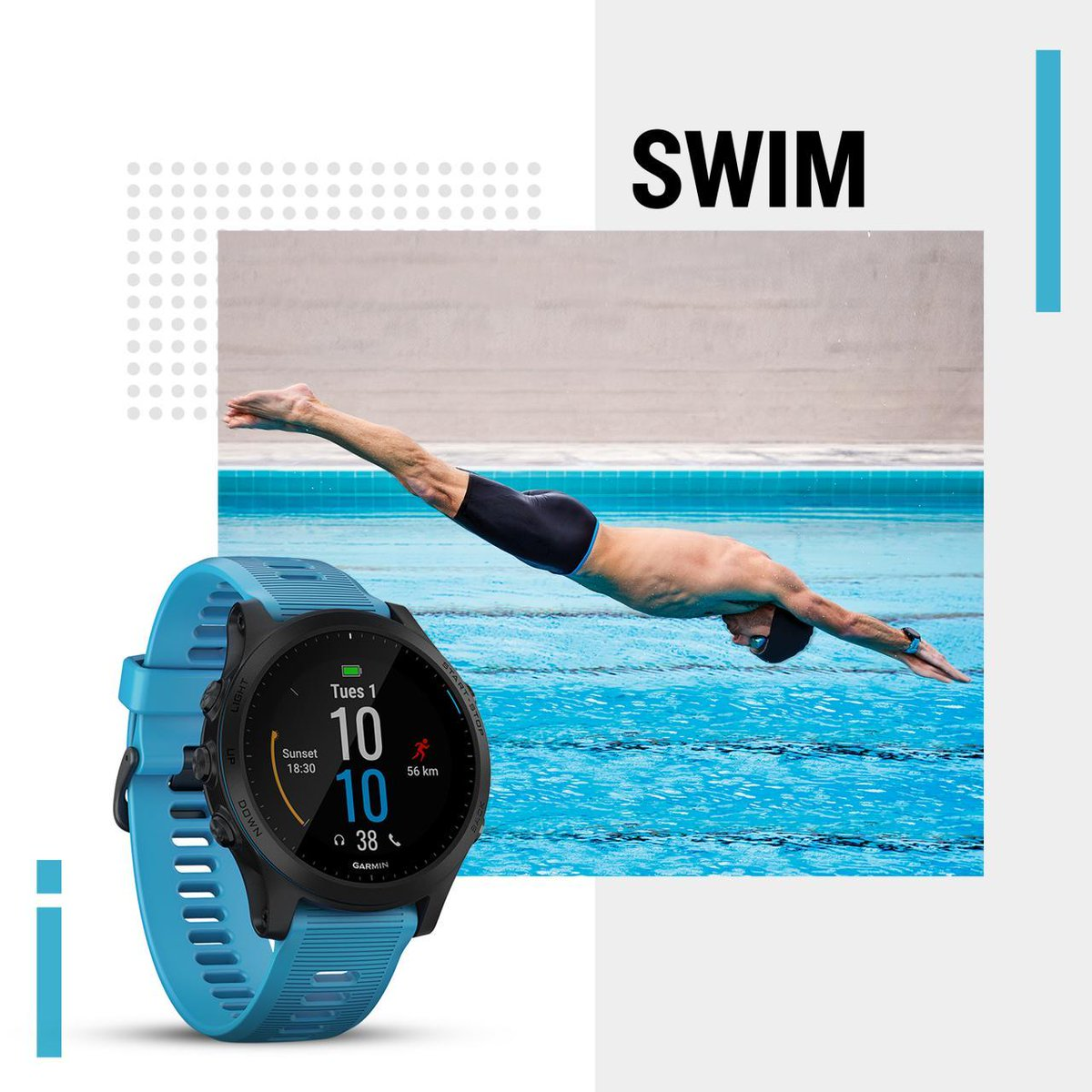 Get personalized data with Forerunner 945 to train your form. Train smarter, not harder whether you are at home in the pool or open water.  Featured Product Forerunner 945: https://t.co/FSJz5zCp0k  #LightToYourTraining #Workout #weekendvibes #fitness https://t.co/xINQNPp1gs