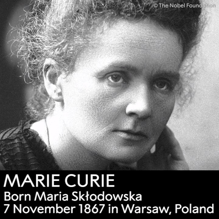 How much do you know about Marie Curie? Curie dedicated her life to science. She was the first woman to be awarded a Nobel Prize, the first person to be awarded twice and is still the only person to receive the prize in two different scientific fields. Curie died #OTD in 1934.