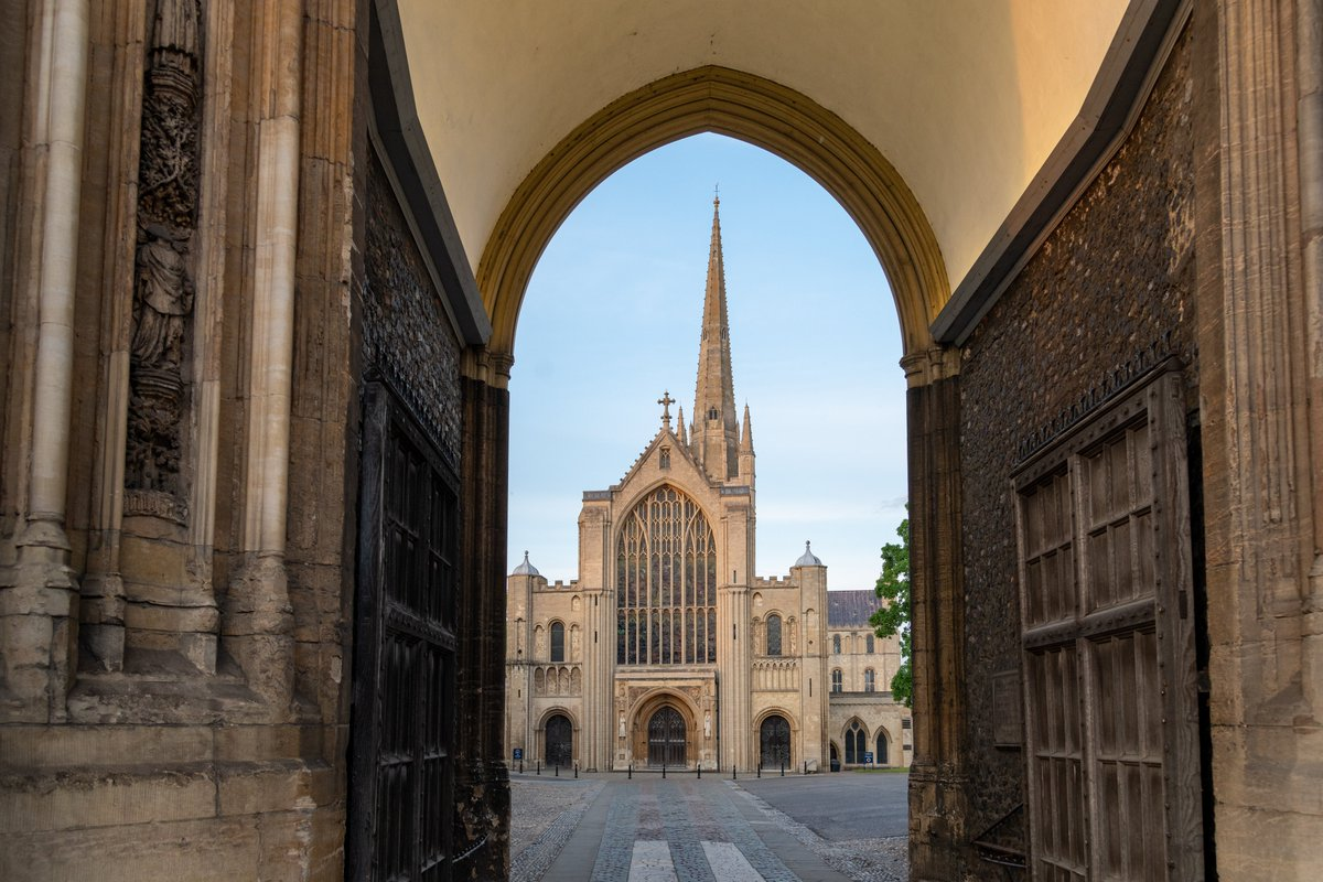 We're #GoodToGo! @VisitBritain and @VisitEngland have awarded @Nrw_Cathedral with the industry standard and consumer mark to reassure visitors that the Cathedral adheres to Government and public health guidance with regards to Covid-19. https://t.co/RXwgzKwozd