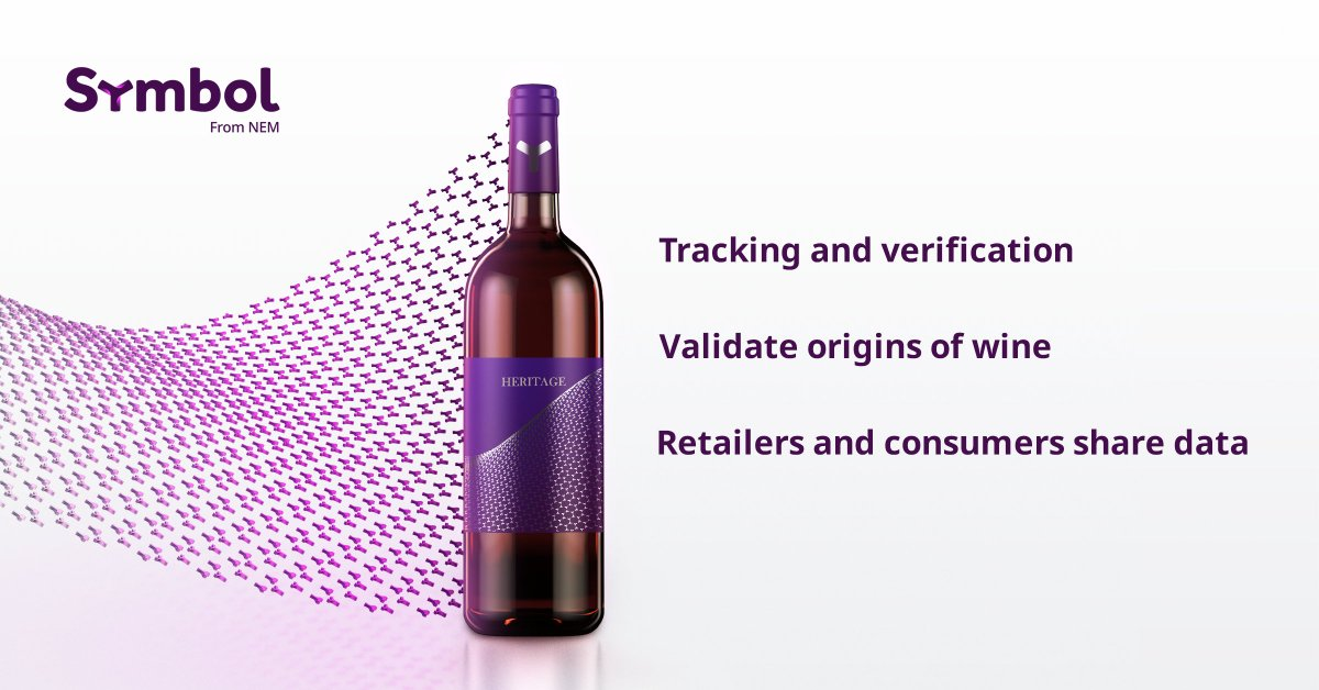 Counterfeit wine is a major problem in China with estimates ranging over 50% of bottles priced $35 and over as being fake. Symbol Blockchain technology can virtually eliminate cases of fraud in the wine industry. Find out how: symbolplatform.com/latest/elimina…