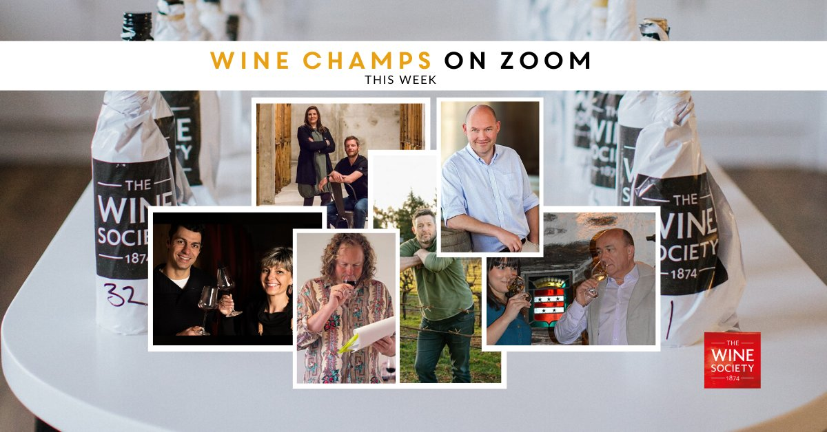 Our Wine Champs Week Zoom events start on Monday! From @darenbergwine to @Esporaoworld, sign up: https://t.co/7zxJ3ufk70 And don't miss buyers Sarah and Matthew talking about our upcoming Italy offer & Fine Wine List at this Friday's Virtual Tasting Room: https://t.co/foSxiSYuvE https://t.co/0v44PsQOqc