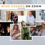 Image for the Tweet beginning: Our Wine Champs Week Zoom