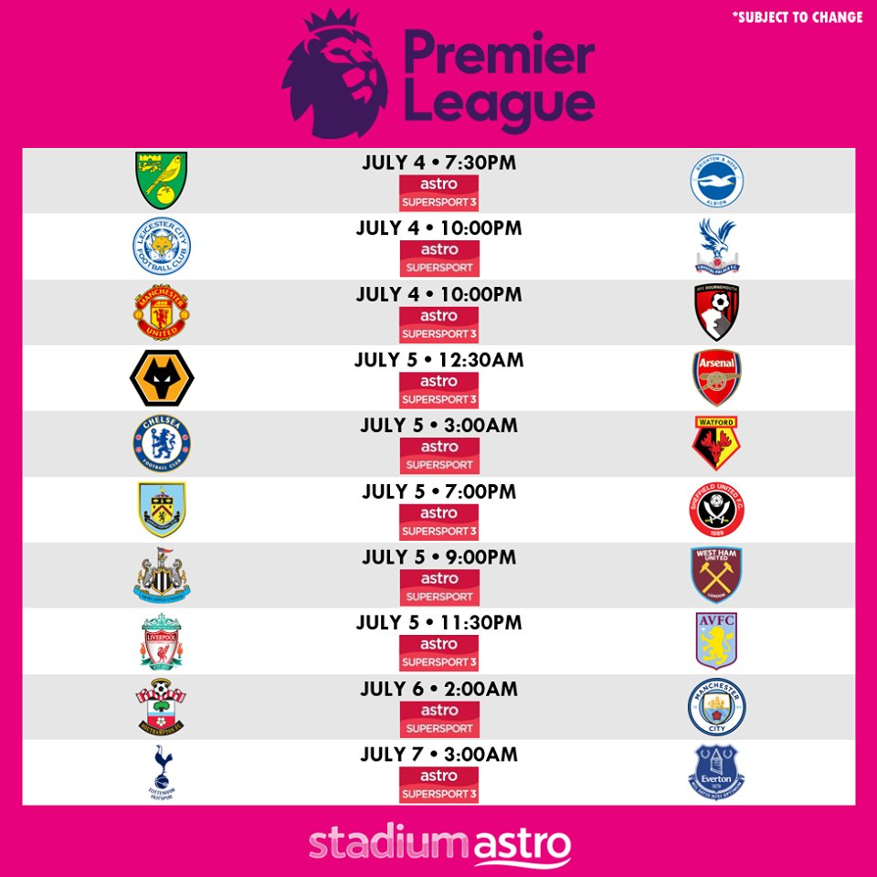 More exciting Premier League games this weekend! https://t.co/hxuVON7FnN