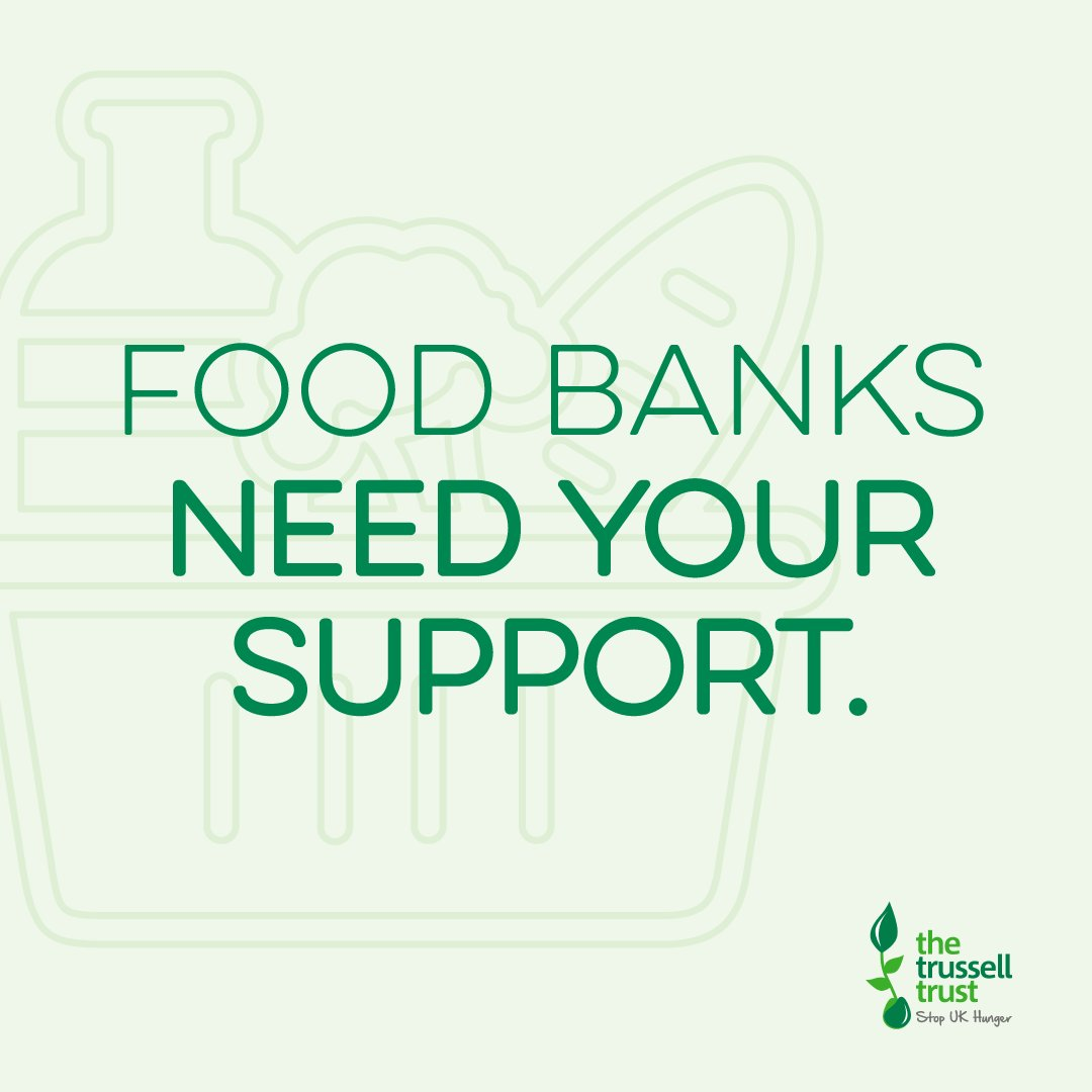 Donating to your local #foodbank can help provide an essential community service to people in crisis in your area. Find your nearest one here > trusselltrust.org/find-a-foodbank
