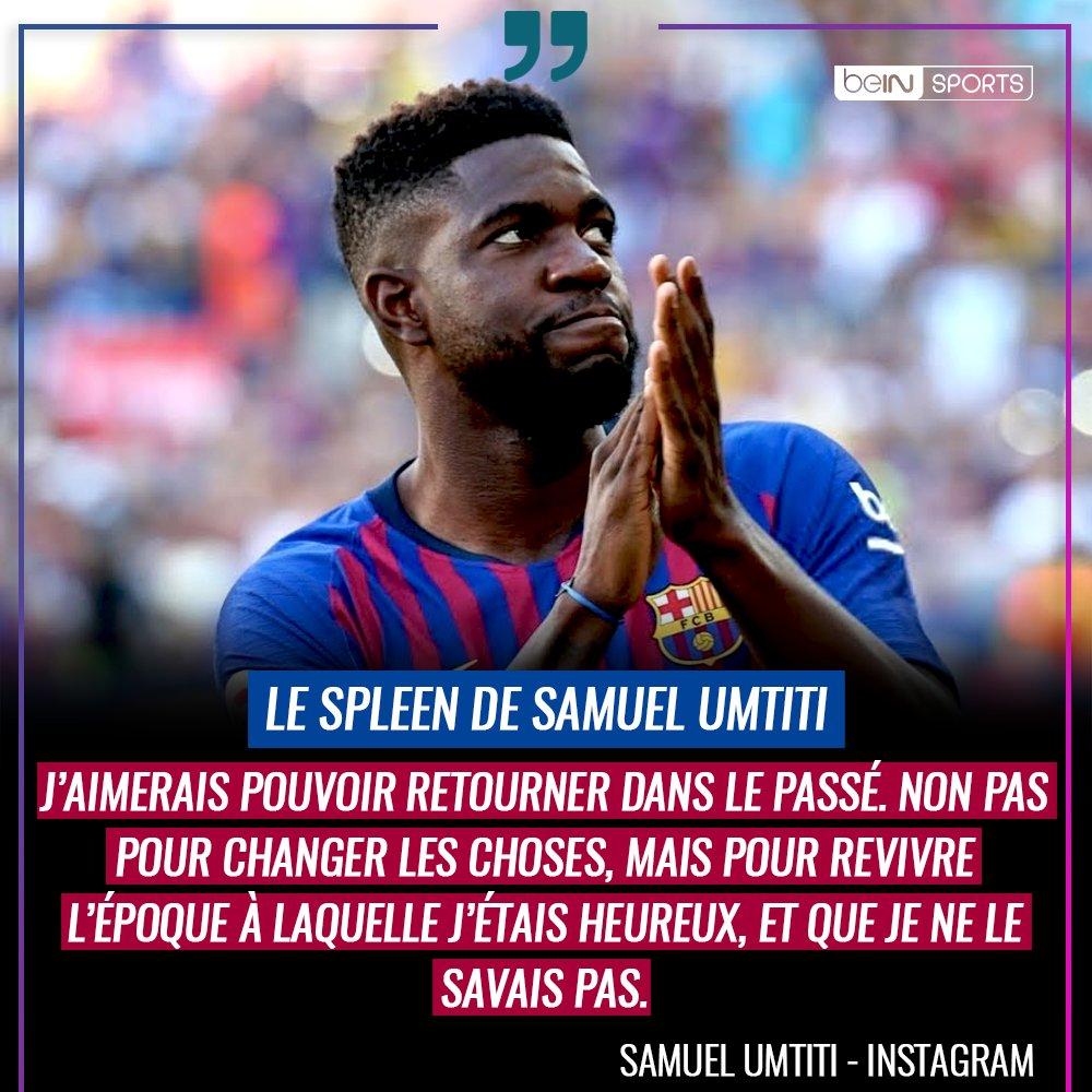 😞 Le triste message posté par Samuel Umtiti sur Instagram... https://t.co/l5U99RxXtB