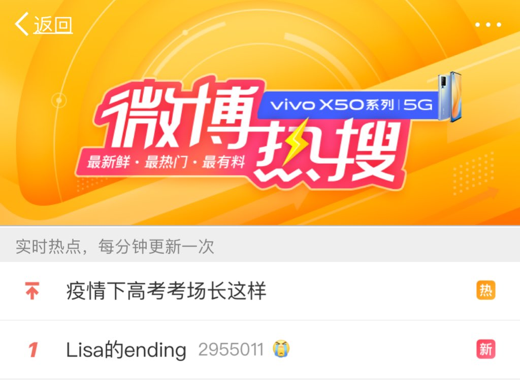 Lisa's ending is trending #1 on Weibo Lisa for Brawl Stars is trending #6 on Weibo #LISAforBRAWLSTARSpic.twitter.com/jg3yovaNLE  by Iloveanimals🦜REST
