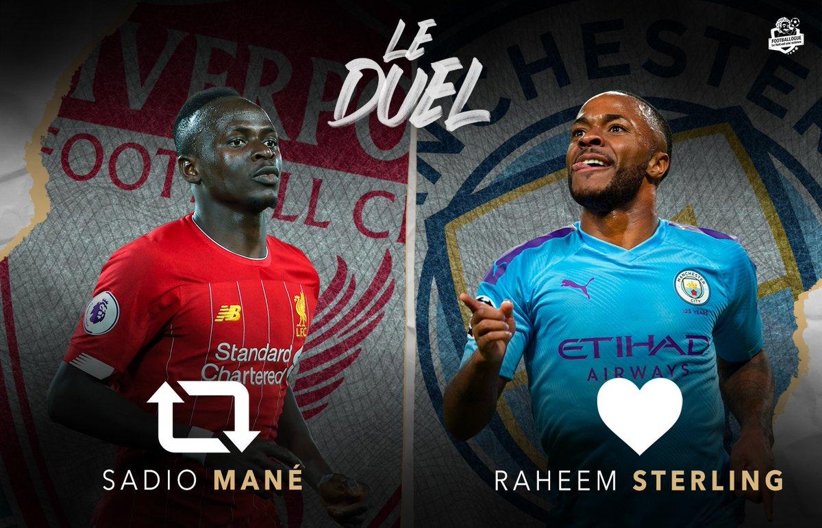 [#PL🇬🇧] Alors, qui est le meilleur ? 😉  🔄 RT pour Mané ❤ FAV pour Sterling https://t.co/CT34DUWE9M