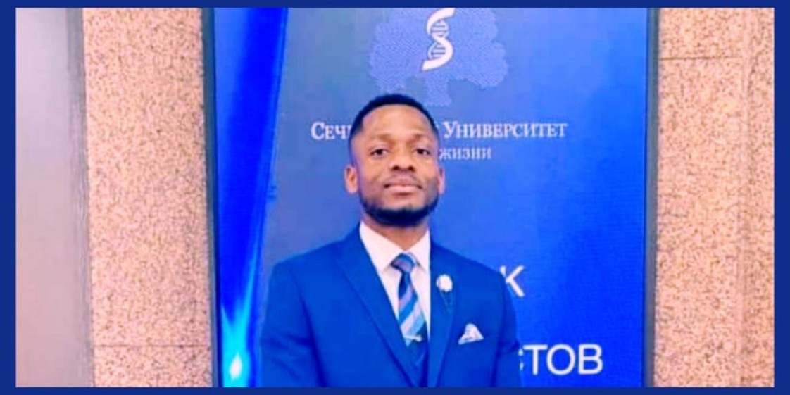 Meet DR. CHIDUBEM OBI GERALD   He is the First African to graduate with a perfect GP of 5.0/5.0 from I.M. Sechenov First Moscow State Medical University (Sechenov University), Russia.  He is also the best graduating student in his faculty—faculty of Medicine.  Let's Celebrate him https://t.co/mxbojUJfTH