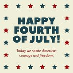 Image for the Tweet beginning: Happy Independence Day from the