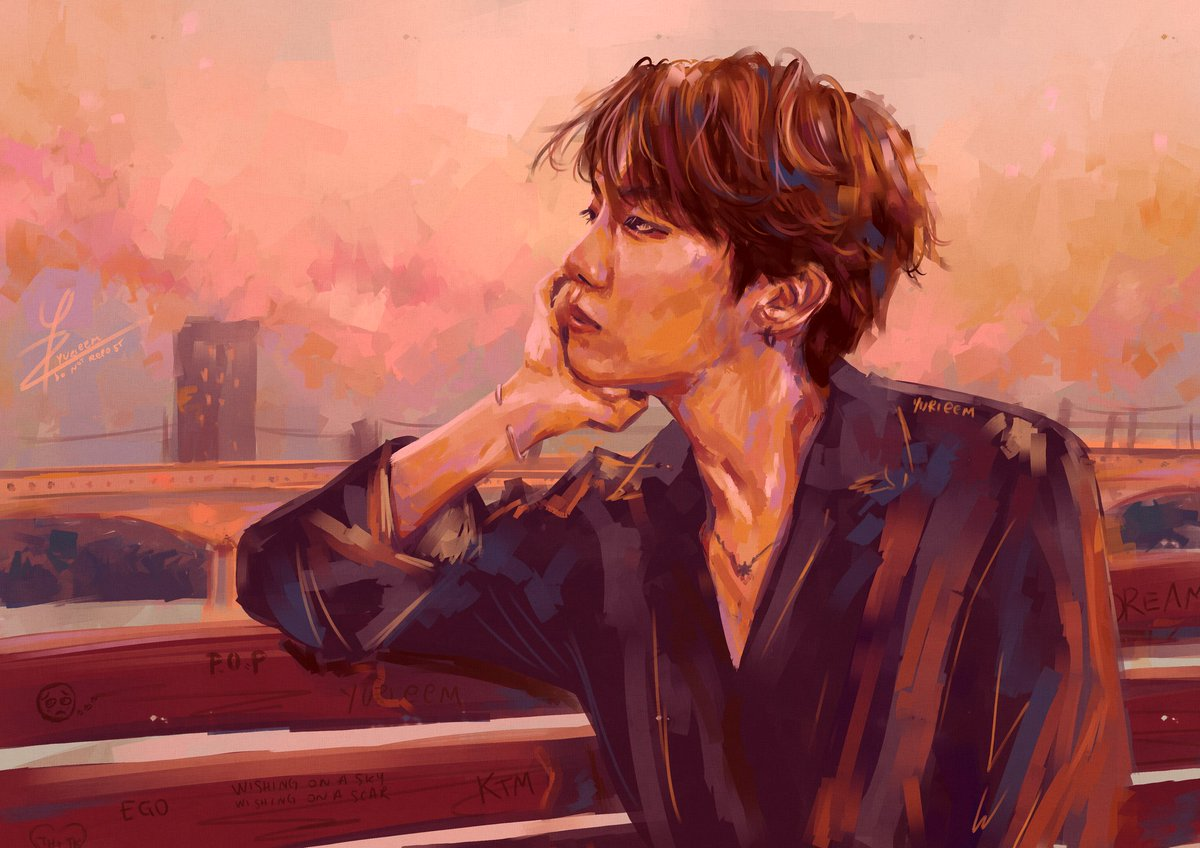 By the Han River   #btsfanart #hoseok #bts pic.twitter.com/9om6mBFMTV  by gaile