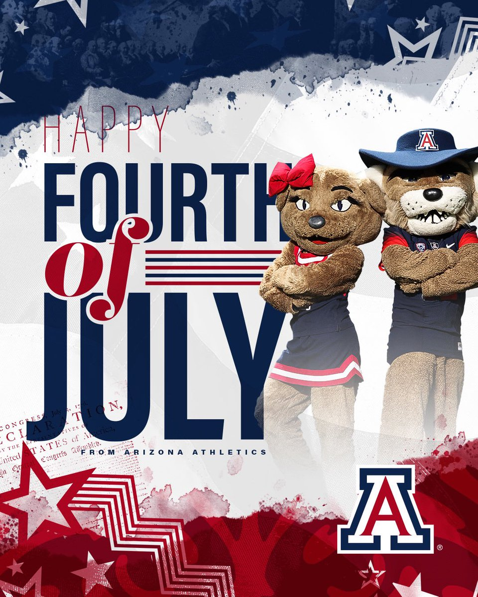 Have a happy and safe #4thofJuly, Wildcat Nation!  #BearDown <br>http://pic.twitter.com/xMhdoWHhcp