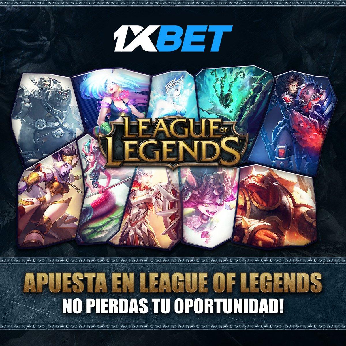 ¿Amante del League of Legends competitivo? Obten ganancias con @1xBet_LAT   • Registrate  • Introduce el codigo JFGPRO y obten un bono de hasta el 130% sobre el valor de tu depósitopic.twitter.com/JRHH447Md3