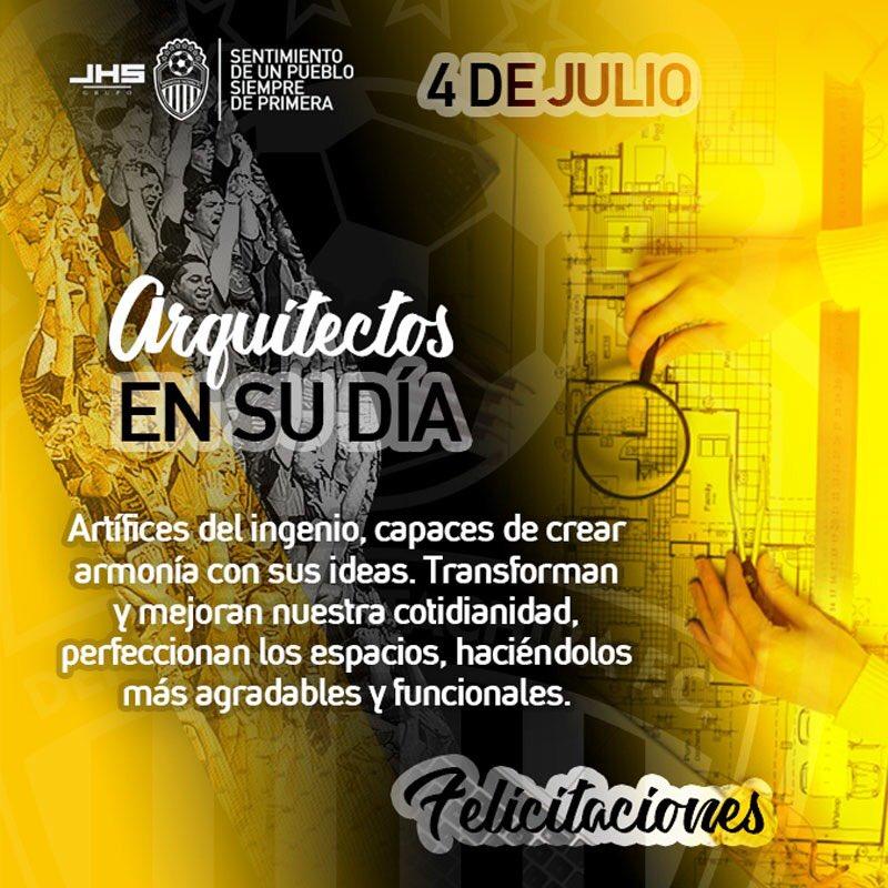 #InstitucionalDTFC   ¡Felicidades a todos los arquitectos en su día! 🇻🇪👏 https://t.co/8QPDeJPzjn
