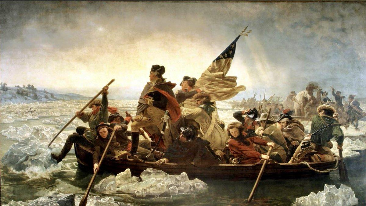 Let Freedom Ring!! #GodBlessAmerica  #independenceday2020 #FourthofJuly2020 #SaturdayThoughts #USA #GreatestOfAllTime #GeneralWashingtonCrossingTheDelawarepic.twitter.com/UaftovFHi2