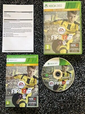 XBox 360 - FIFA 17 DELUXE EDITION http://dlvr.it/RZxqJt pic.twitter.com/X6Du1KCA7S