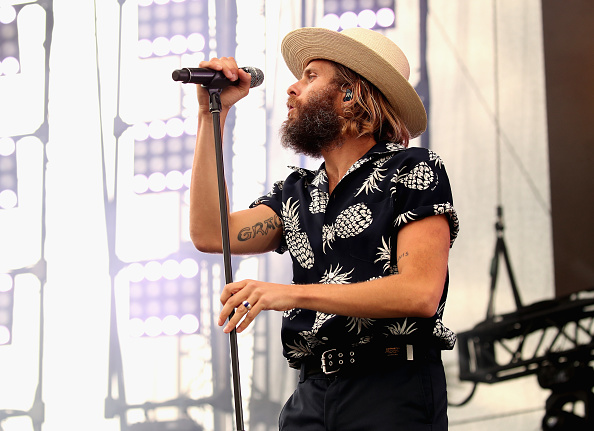 Its so hard to pick just 2 back-to-back @awolnationsongs. 😣 I guess its a good thing we have all weekend! Tune in now for a double dose of your favorite songs from artists you love like this one thanks to @budlight#seltzer 🍻 📸: Christopher Polk #sponsor