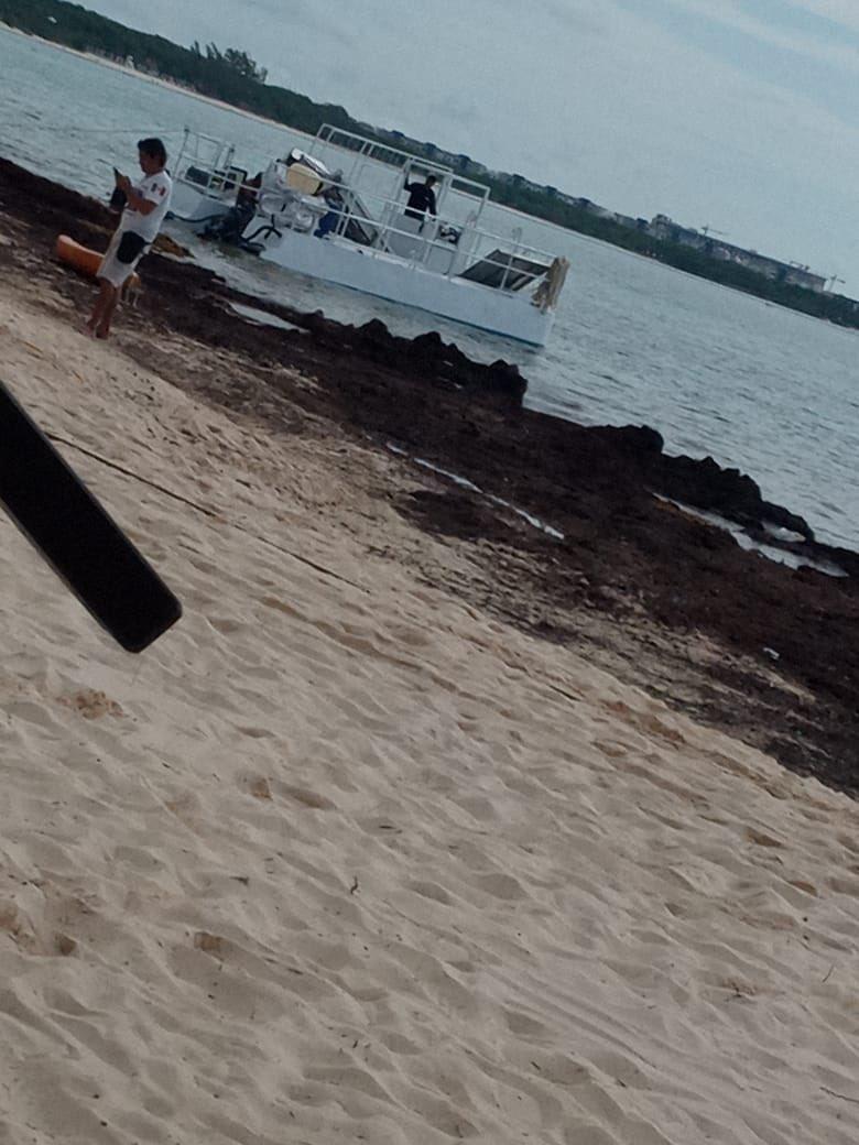 Otro proyecto fallido de la 4t Aunque se enojen señores  No se a atendido lo del tema del sargazo  @SEMAR_mx al parecer ni sus luces por playa del carmen  En donde En donde están??