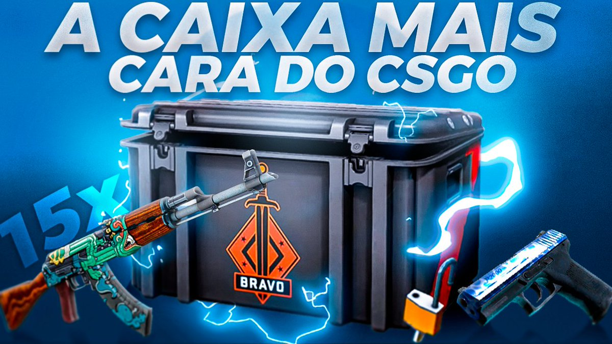 Abri R$2900 em caixas BRAVO dentro do CSGO! (A caixa mais CARA do CSGO) https://youtu.be/PJvX6Dm7BX4  https://youtu.be/PJvX6Dm7BX4 pic.twitter.com/4EXJQ1kJ5E