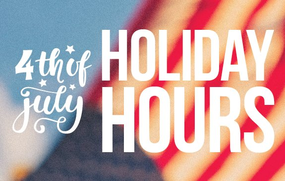 Happy 4th of July! REMINDER: The market will be closing early, at 5:30pm! Online ordering will be accepting orders until 7pm. elmcitymarketdelivers.com #ElmCityMarket #ECMDelivers #FourthofJuly #HoilidayHours #HolidayWeekend