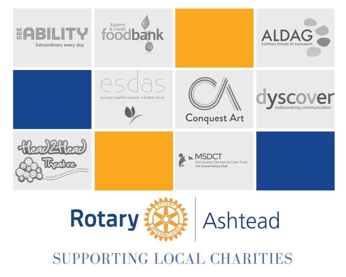 Always loved Ashtead Village Day? Sadly it is cancelled this year so please consider making a small donation to help the many charities missing out on vital fundraising. Normally we collectively raise ~£40,000! https://t.co/CpdH1ee8E9 #Rotary #Ashtead #Charity #Fundraising https://t.co/gvoEHjsGib
