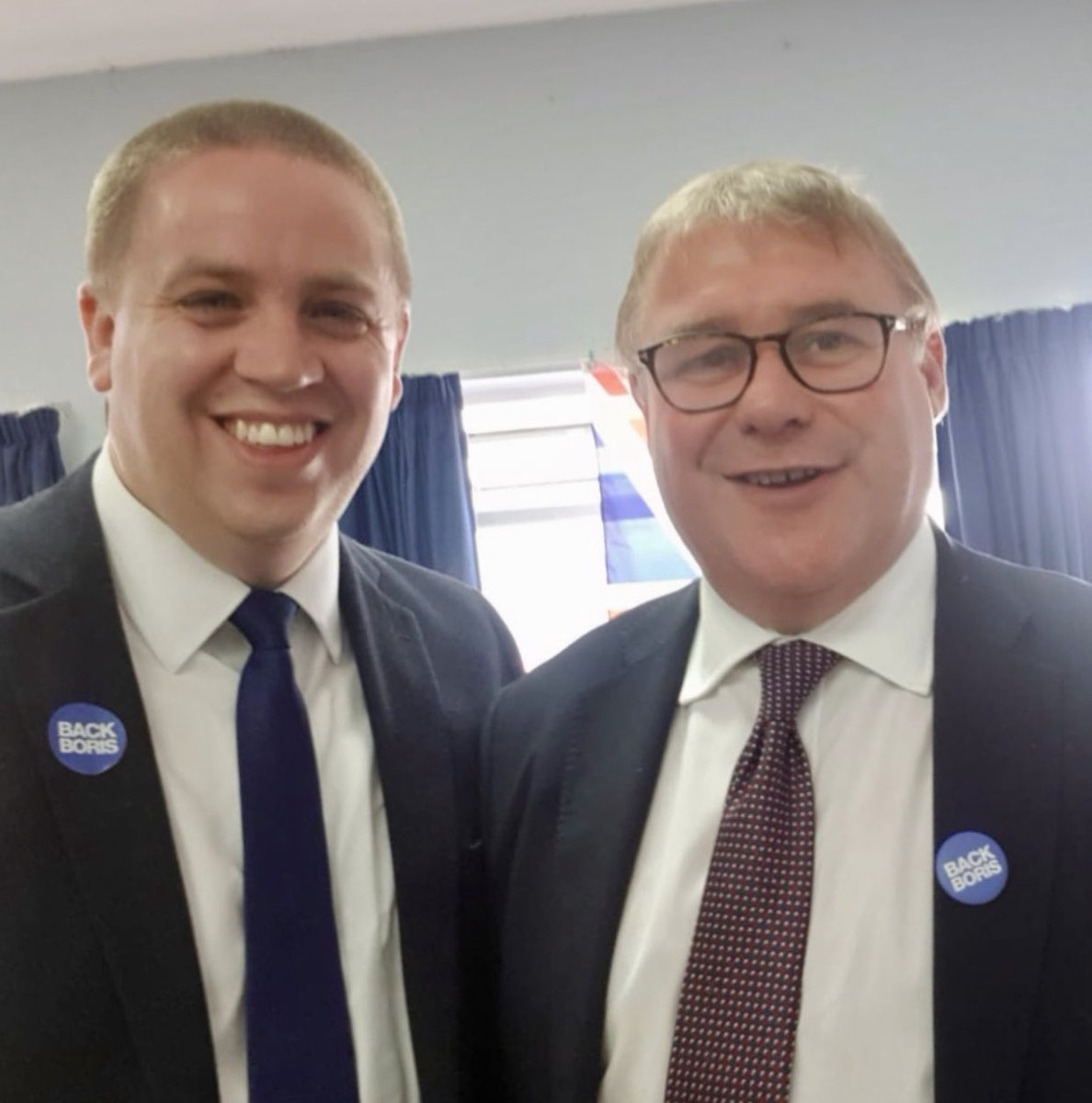 A year ago today... on the #BackBoris campaign trail with Jacob Rees-Mogg, Mark Francois and Sir David Amess!   A lot has happend since then.... <br>http://pic.twitter.com/f3OMpL5aYe