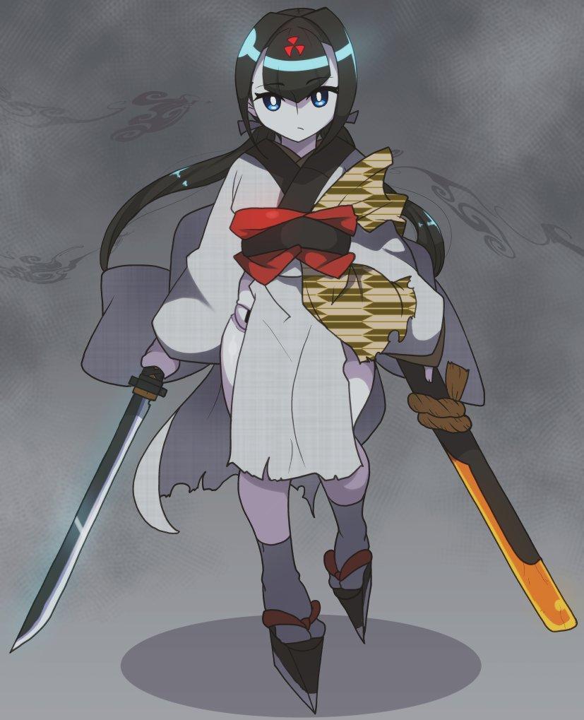 弾刀ちゃんセルフリメイク https://t.co/tyGwthQwBk