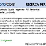 Image for the Tweet beginning: Nuova offerta di #lavoro Impiegato Controllo