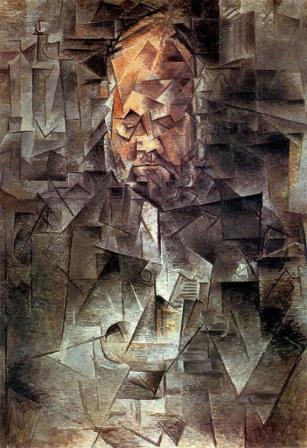 RT @ARanganathan72: A portrait painted by Pablo Picasso in 1910. Which politician does it remind you of? https://t.co/LnYtKgyr37
