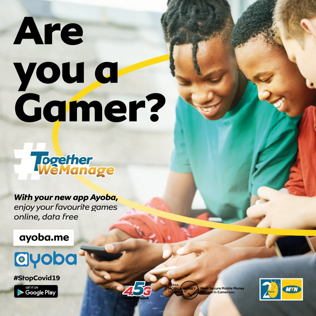 Y'ello! Yes guys, you heard right ! On the Ayoba App, you can enjoy all your favourite games without using your data. Download Ayoba and enjoy. Click here  https://t.co/7lkxhVgyUl  #TogetherWeManage #Ayoba https://t.co/8w9N42Dw7j