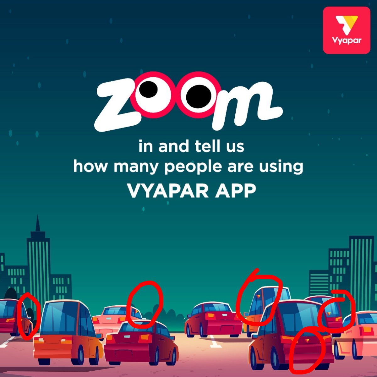 Vyapar On Twitter Contest Alert All You Have To Do Is 1 Zoom In And Find Out How Many Vyapar Logos Are There In The Image Comment Your Answer Below 2 Rt