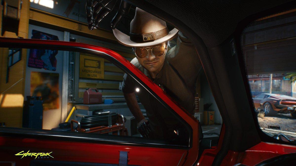 Sheriff's in town.  #Cyberpunk2077 https://t.co/mDlmUKUnRP