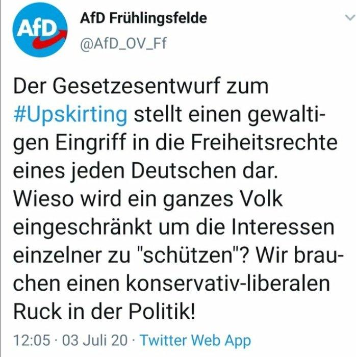 #upskirting