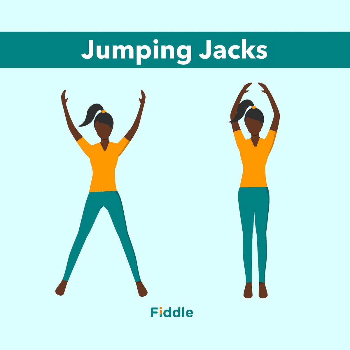 Jumping Jacks use your large muscle groups, legs and arms too. Jumping Jacks burn fat and calories, which can help decrease body weight.  #jumpingjacks #fitness #workout #pushups #squats #burpees #lunges #fitnessmotivation #homeworkout #exercise #mountainclimbers #fit #fitfampic.twitter.com/wYUhm5Tnzy