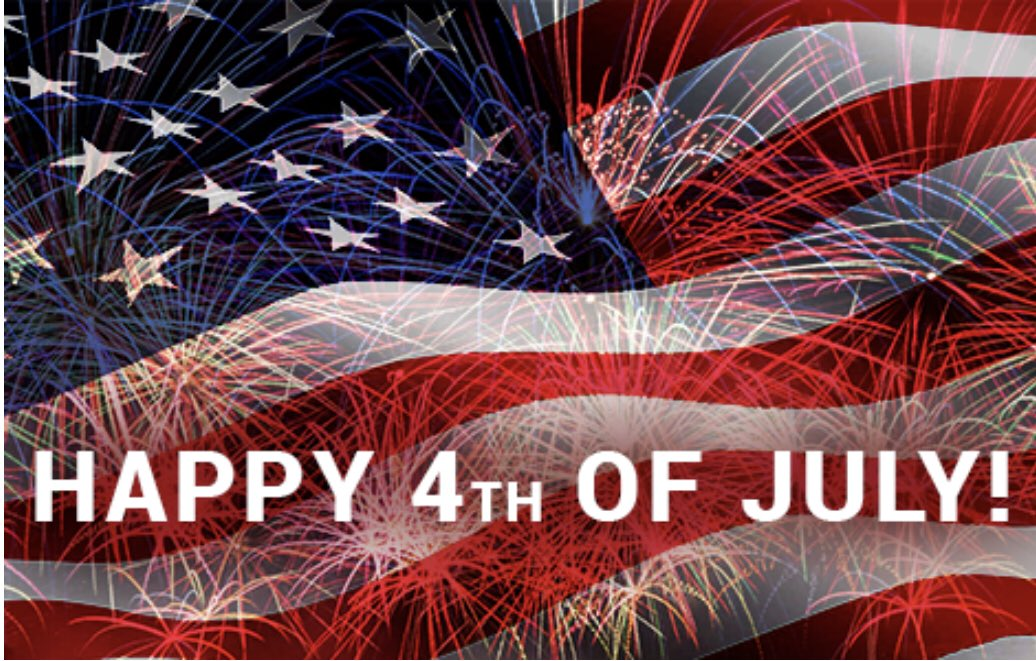 Wishing everyone a #safe and #happy #4thofJuly2020pic.twitter.com/Js3wJ0y0Nh