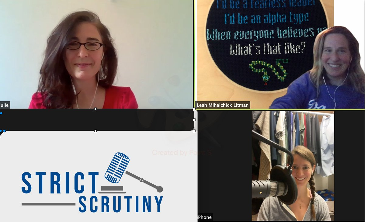 Can't wait to listen to this episode of Strict Scrutiny with our very own Julie Rikelman, the lead attorney on our U.S. Supreme Court Case, June Medical Services v. Russo.   (ICYMI: We won our case last week!) #MyRightMyDecision