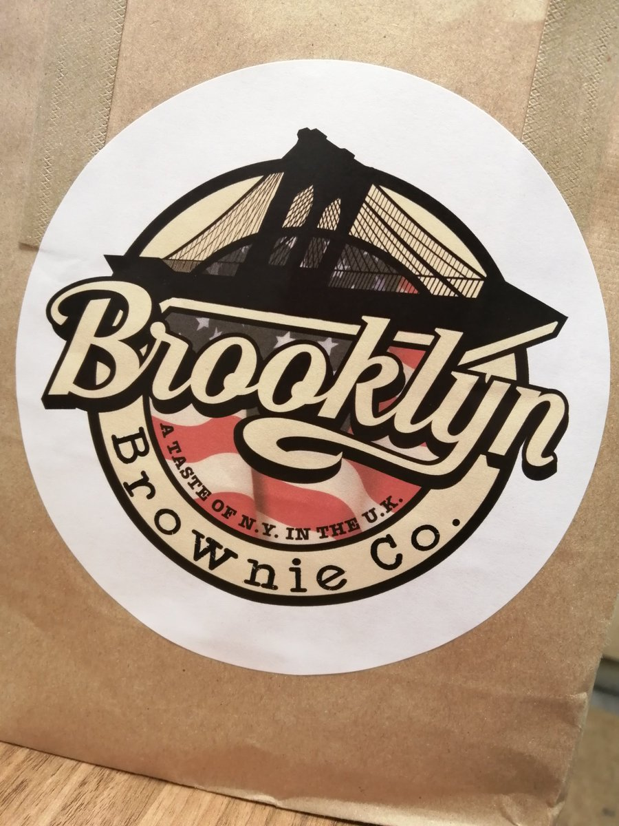 ATTENTION! ATTENTION!  ONLY 5 BROOKLYN BROWNIES LEFT!! 3 Ole Black N White and 2 Get Some Nuts available. @BrooklynBrowneepic.twitter.com/NgKawuwSf4  by Matchbox Cafe Northampton