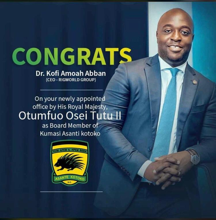 Since my Godfada @kofiAbban19 is now a Board member of Asante kotoko. I am now supporting kotoko with full vim including my fans ..Wukum Apim apim b3ba !!! ⚽️ https://t.co/2ATBDbyELG