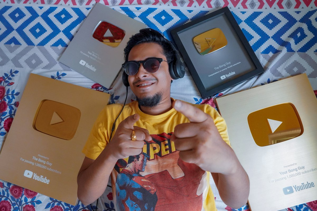 Thank you @YTCreatorsIndia ❤️🙏 Got a new Golden Play Button for my Second Channel. Thank You everyone ❤️