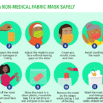 Image for the Tweet beginning: If you use a mask,