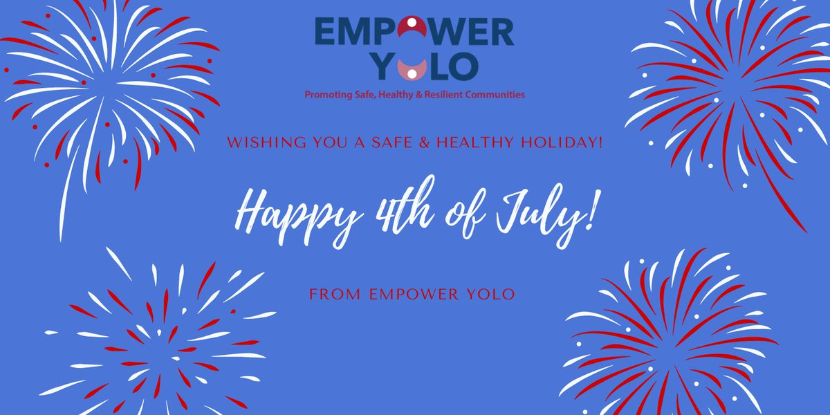 @empower_yolo wishes you a safe, healthy & happy 4th of July! #Happy4thofJuly pic.twitter.com/RLU6YHRMZe